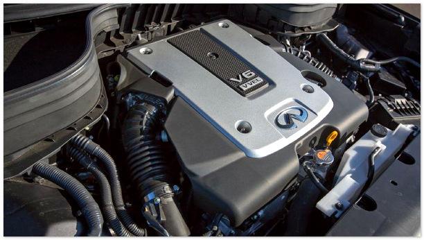 фото двигателя Infiniti QX50