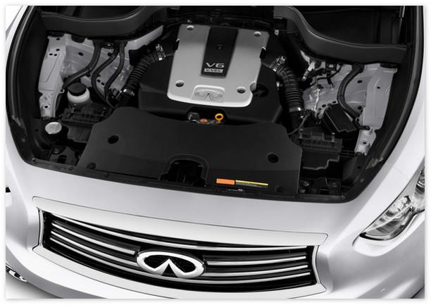 фото двигателя Инфинити Ку Икс 70