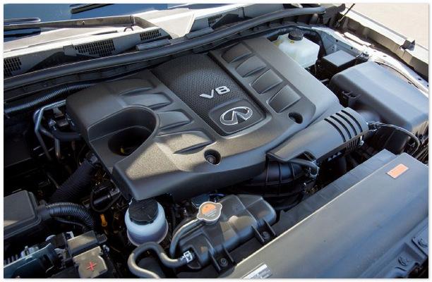 фото двигателя Инфинити QX80 (QX56)