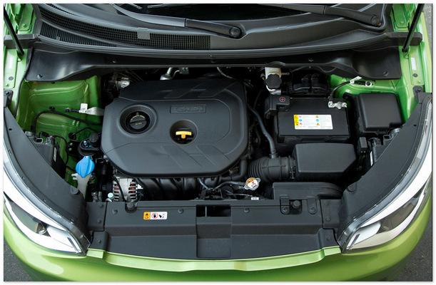 фото двигателя Киа Соул 2014
