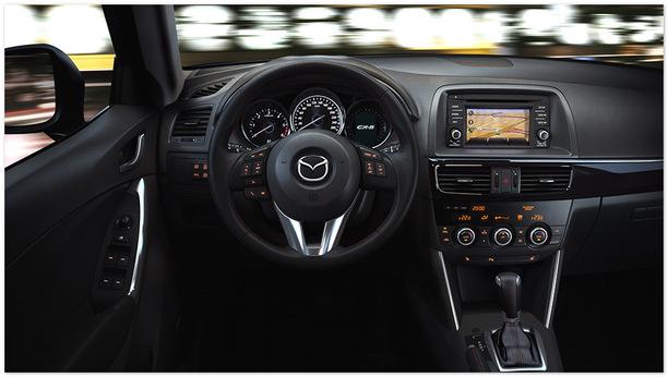 фото салона Mazda CX-5 2014