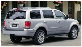 Chrysler Aspen (вид сзади)