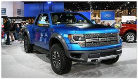 Ford Raptor (вид сбоку)