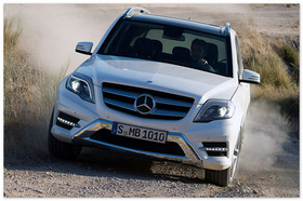Mercedes GLK  (вид спереди)