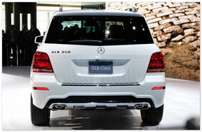 Mercedes GLK  (вид сзади)