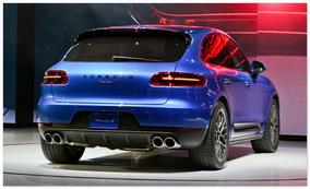 Porsche Macan (вид сзади)