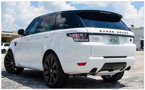 Range Rover Sport (вид сзади)