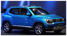 Volkswagen Taigun(вид сбоку)