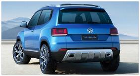 Volkswagen Taigun(вид сзади)