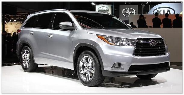 фото Toyota Highlander 2014