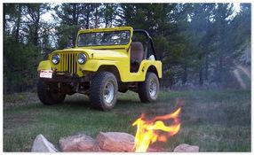 гражданская версия  Jeep CJ-5 1951-1983 года