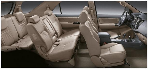 салон Toyota Fortuner