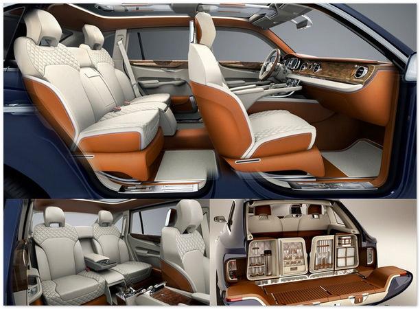 салон внедорожника Bentley