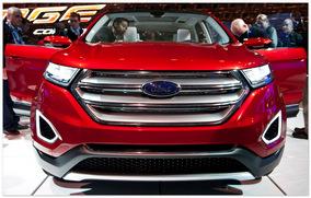 Ford Edge(вид спереди)