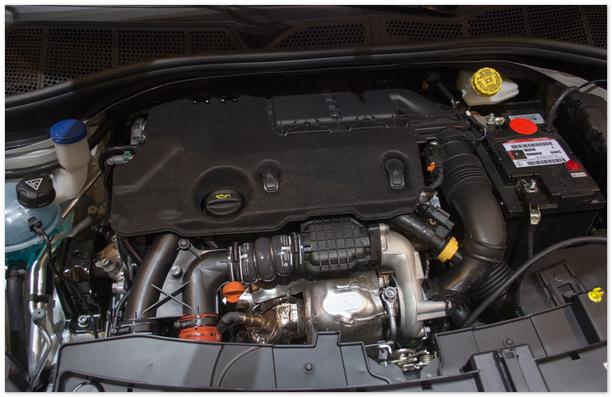 двигатель Ситроен Кактус