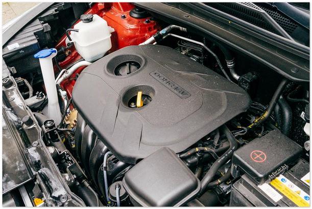 двигатель Hyundai ix35 2015