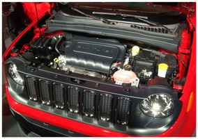 двигатель  Jeep Renegade 2014