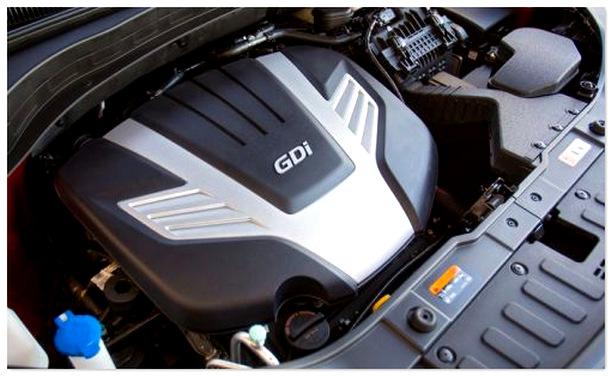 двигатель Kia Sorento 2015.