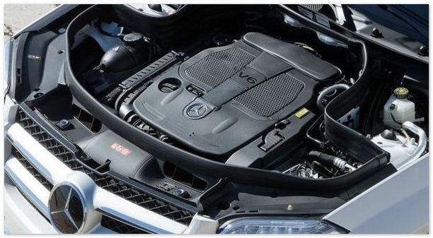 двигатель Mercedes GLK 2015
