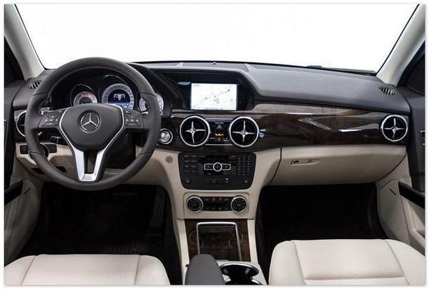 салон Mercedes GLK 2015