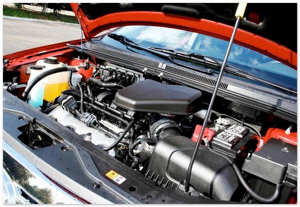 двигатель Ford Edge 2015