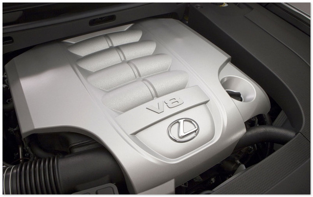 двигатель Lexus LX 570 2015