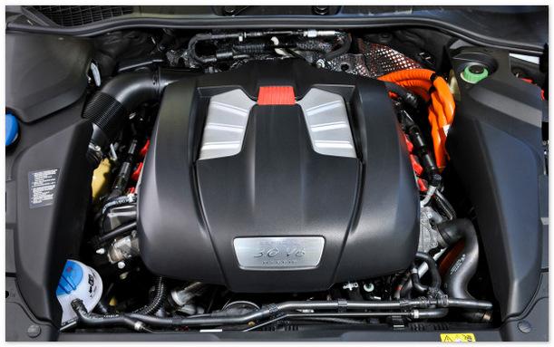 двигатель Порше Кайен 2015