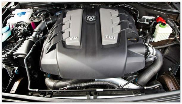 двигатель Фольксваген Туарег 2015