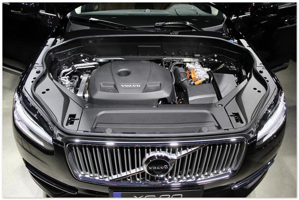 двигатель Volvo XC90 2015