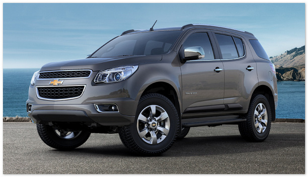 джип Chevrolet Trailblazer