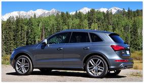 фото Audi SQ5 (вид сбоку)