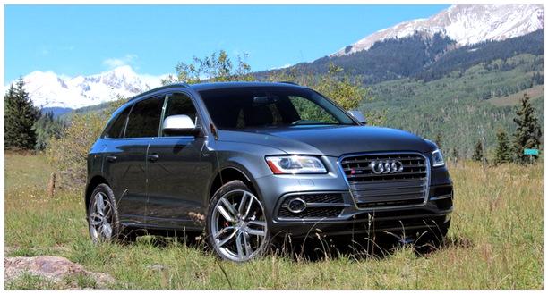 фото Audi SQ5 2014 года