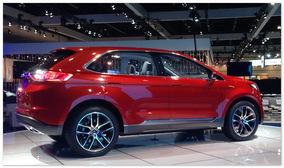 фото Ford Edge 2015 (вид сбоку