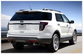 фото Ford Explorer 2015 (вид сзади)