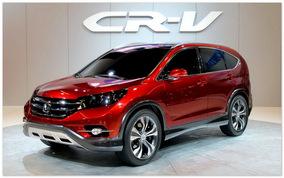 фото Honda Cr-V 2015(вид сбоку)
