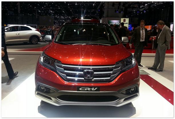 фото Honda Cr-V 2015(вид спереди)