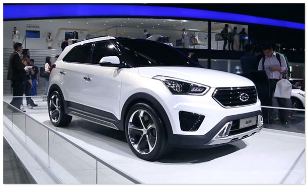 фото Hyundai ix25(вид спереди)
