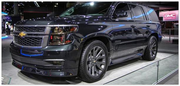 новый Chevrolet Tahoe 2015