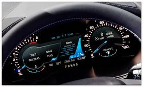 панель управления Ford Edge 2015