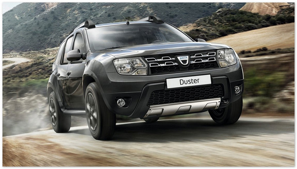 паркетник Dacia Duster