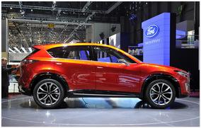 фото Mazda CX-3 2015 (вид сбоку)