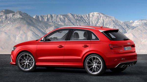 Audi-Q3 - вид сбоку