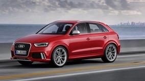 Audi-Q3 на дороге