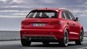 Audi-Q3 - вид сзади
